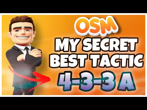 OSM 2021 | ⚡️ SECRET BEST TACTIC 433A | MORE THAN 100 TITLES 🏆 | 10 YEARS USING THIS TACTIC ‼️