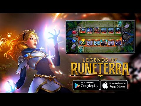 Legends of Runeterra Mobile - First BETA Gameplay (Android/IOS)
