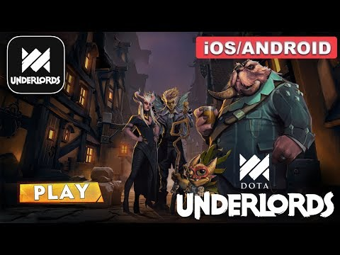DOTA UNDERLORDS - Android / iOS GAMEPLAY - Mobile Game